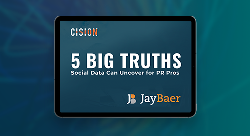 5 Big Truths Social Data Can Uncover for PR Pros