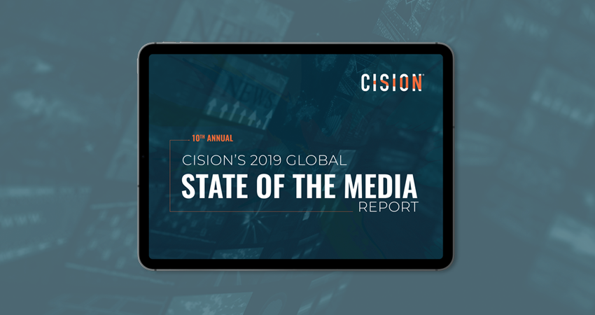 Cision's 2019 Global State of the Media Report