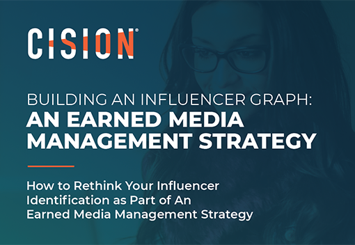 Building an Influencer Graph: An Earned Media Management Strategy