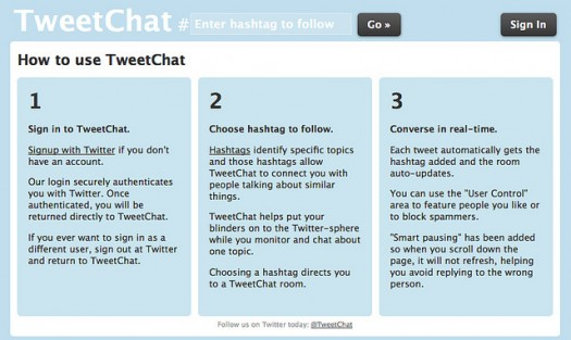 How to Use Tweetchat - PR