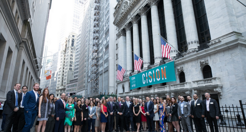 So Much to Celebrate as Cision® Marks Our 1-Year IPO Anniversary