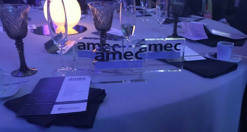 Cision Celebrates a Golden Night at the 2018 AMEC Awards