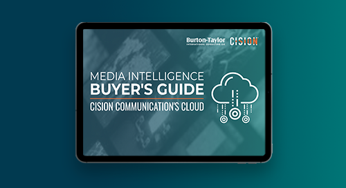 2019 Burton-Taylor Cision Communications Cloud Analysis
